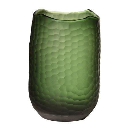 Vaas Carved Groen D17.5 H26.5