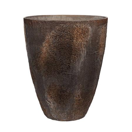 Pot Oliver L oneffen Bruin D70 H83