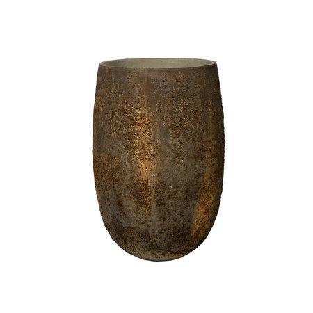 Pot Belon L oneffen Bruin D50 H75