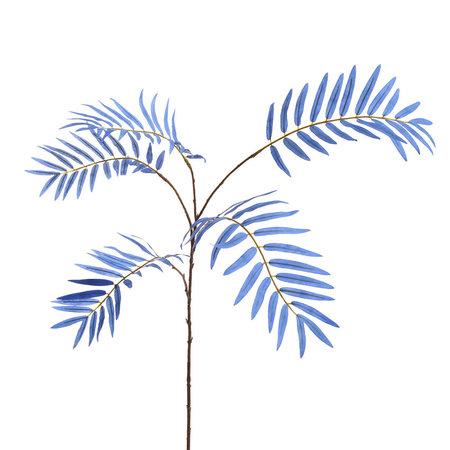 Palmtak 5Blad Blauw H