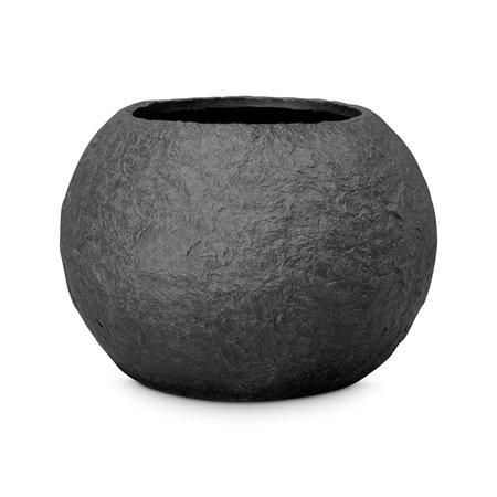 Pot Cliff Zwart graniet D60 H34