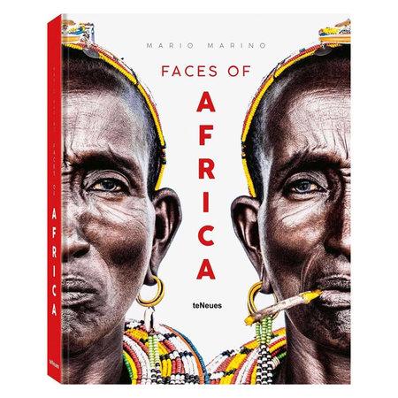 Boek Faces of Africa, Mario Marino L34 B27.5