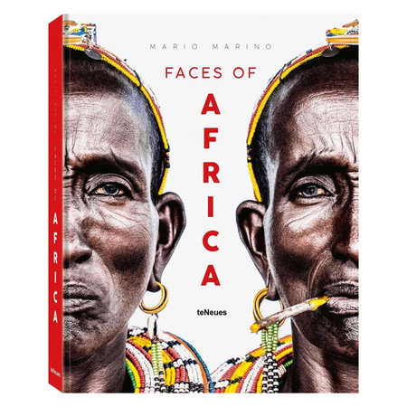 Book Faces of Africa, Mario Marino