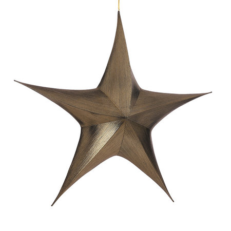 Hangende Ster Goud L110 B34 H95