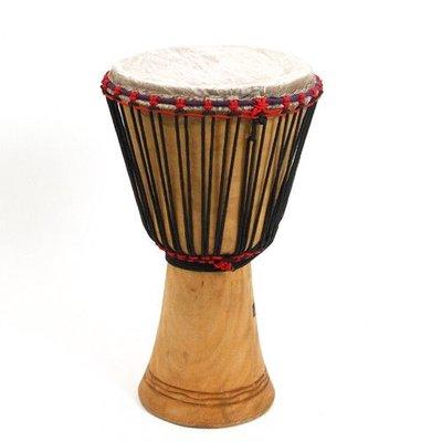 Bouba Percussion Djembé Guinee, melina hout, Ø 30 cm