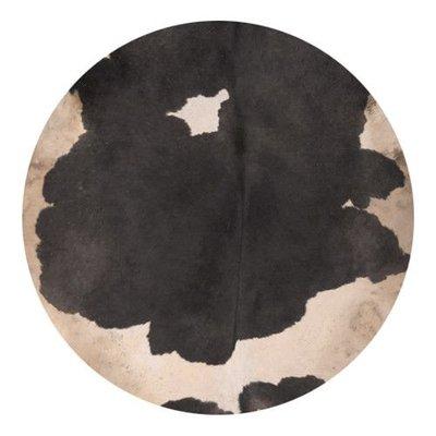 Koeienvel met haar Ø 80 cm, dikte 1,5-3 mm