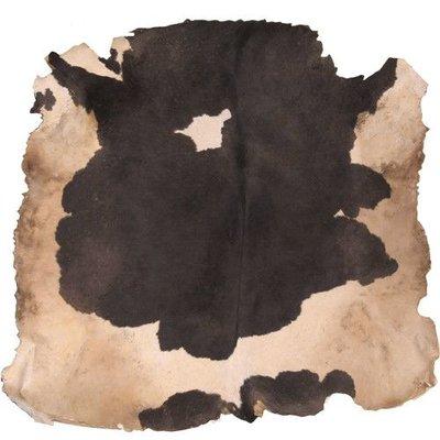 Koeienvel met haar Ø 120 cm, dikte 1,5-3 mm