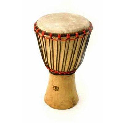 Bouba Percussion Djembé Guinee, melina hout Ø 22,5 cm, Bouba