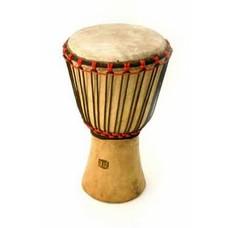 Bouba Percussion Djembé Guinee, melina hout Ø 20 cm, Bouba