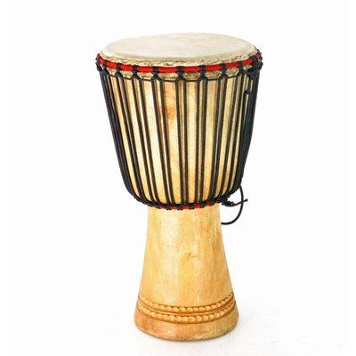 Bouba Percussion Djembé Guinee, melina hout Ø 27,5 cm, Bouba