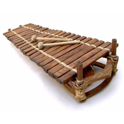 Bouba Percussion Balafoon 21 staven, diatonisch, Guinee