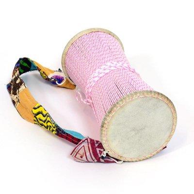 Tama / talking drum uit Senegal met geitenvel
