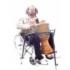 Djembé-standaard  voor rolstoelers, StigSlag