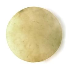 Koeienvel geprepareerd / bongovel Ø 40 cm dikte ± 1 mm