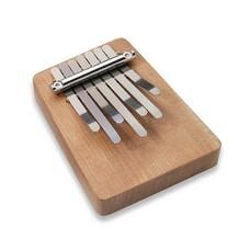 Hokema Mini-kalimba op een plankje, 7 tonen, Hokema