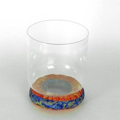 Klankschaal helder kristal Ø 15 cm, toon F#