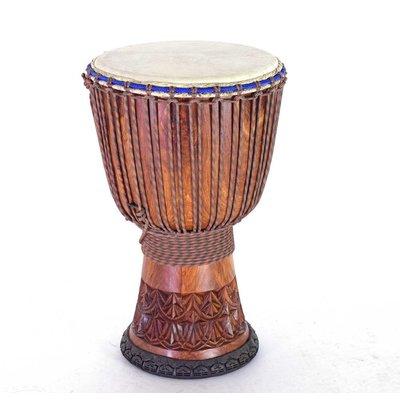 Bouba Percussion Djembé 'Super' uit Guinee, Ø 35 cm, Bouba Percussion