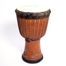 Bouba Percussion Djembé 'Super' uit Guinee, Ø 34 cm, Bouba Percussion