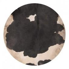 Koeienvel met haar Ø 40 cm, dikte 1 - 2 mm
