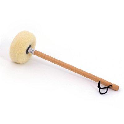 Gongklopper L4 met lamsvel, voor gong Ø 80 - 85 cm