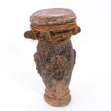 Onbekend Oude trommel uit Ivoorkust, Dan