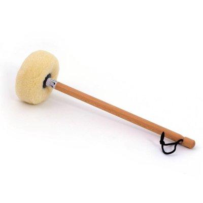 Rytmelo Gongklopper S2 met lamsvel, voor gong Ø 50 - 60 cm
