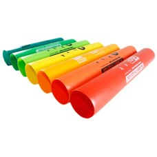 Boomwhackers, treble extension, 7 buizen