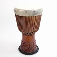 Bouba Percussion Djembé 'Super' uit Guinee, Ø 32/33 cm, Bouba Percusion
