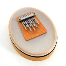 Hokema Kalimba Sansula in A-mineur, gestemd in A-432 Hz