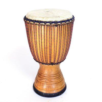 StigSlag Djembé Ivoorkust Ø 34 - 35 cm, rubber onderrand