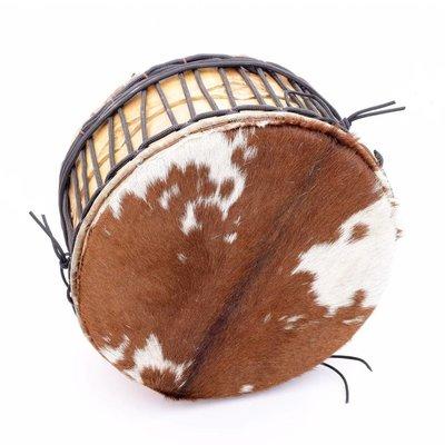 StigSlag Powwow drum, 2 zijden geitenvel, Ø 43 cm, StigSlag