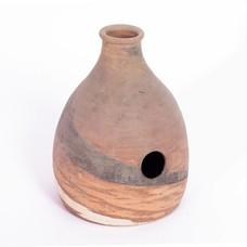 Udu Drum, aardewerk, ± 24 x 34 cm, Hadam
