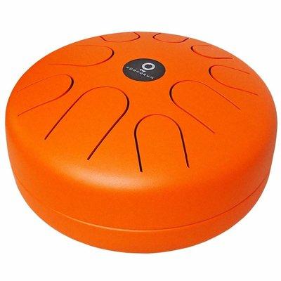 Aquadrum Air EA, F-majeur, oranje (incl. tas en onderzetter)