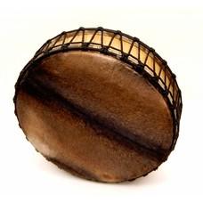 Sjamaandrum, aan 2 zijden vel, Ø 50 cm (incl. tas, kloppers)