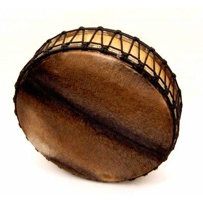 Sjamaandrum aan 2 zijden vel Ø 50 cm (incl. tas)