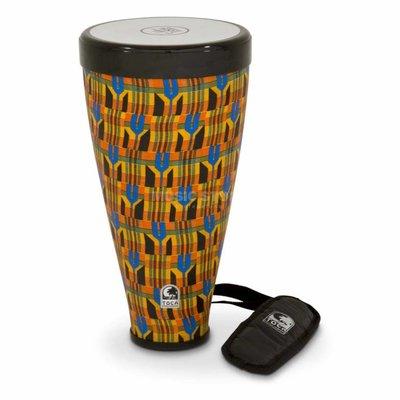 Toca Flex Drum Large, Kente Cloth design, Toca