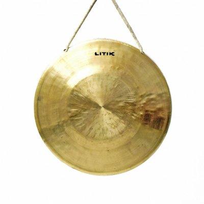 Litik Percussion Jin Ban gong - van laag naar hoog Ø 22 cm (incl. klopper)