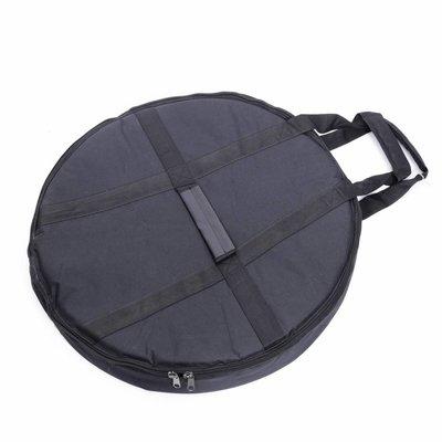 Hess Klangkonzepte Tas voor Gong en Framedrum, Ø 90 cm, zware kwaliteit, Hess