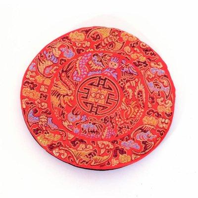 Kussen voor klankschaal 13 cm, rood