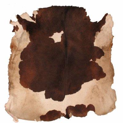 Koeienvel met haar Ø 140 cm, dikte 1 - 2 mm