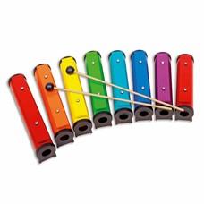 Boomwhackers Rainbow Sound Tubes in Boomwhackerskleuren, set van 8