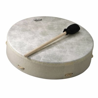 Remo Framedrum Bahia Buffalo Drum 16x3,5'', wit, Remo