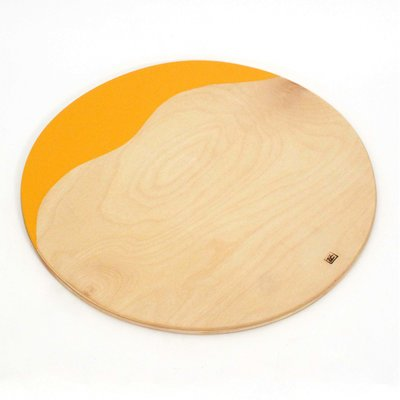 Ocean Drum hout Ø 42 cm, dikte 1,2 cm