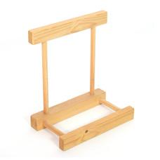 Standaardje van hout voor framedrum, StigSlag