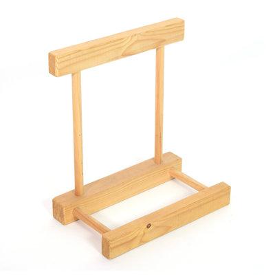Standaard voor framedrum, hout, StigSlag