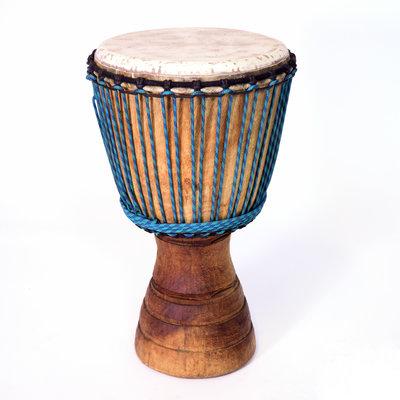 Djembé Ivoorkust irokohout Ø 32-33 cm (B-keuze)