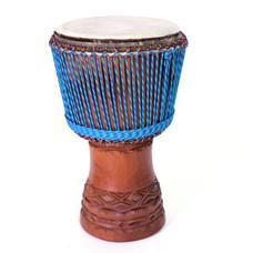 Bouba Percussion Djembé Guinee Ø 35 cm, koeienvel, dyneema touw, Bouba