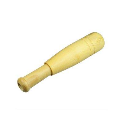 Eendenfluit, vogelfluitje, hout, 13 cm, groot