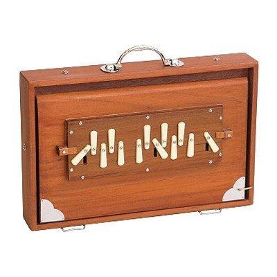 Shruti box M.K. Sardar, medium, in A-432 Hz (incl. tas)