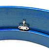 StigSlag Bodhran essenhout, blauw, Ø 45 cm, stembaar, met dempring